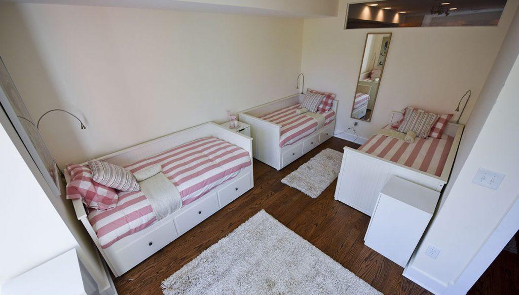 beds on girard condo